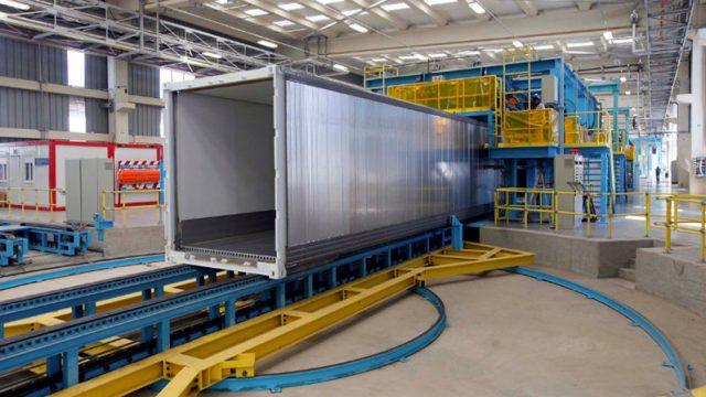 O que são containers marítimos e de que são feitos?